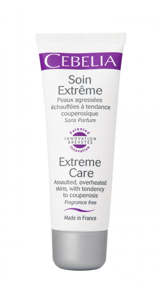 CEBELIA Extreme Care soothes redness and overheated skin