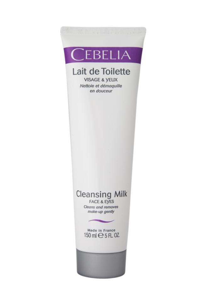 CEBELIA Cleansing Milk gently cleanses and removes makeup
