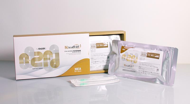 PDO, thread, Polydioxanone, N-scaffold, Nscaffold, N-Finders, nfinders