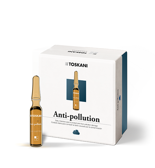 Anti-Pollution Ampoules | Toskani cosmetics