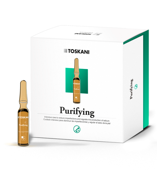 Purifying Ampoules | Toskani cosmetics