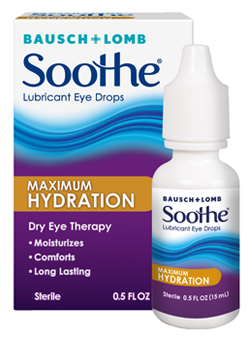 Soothe Lubricant Eye Drops Maximum Hydration