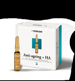 Anti-Ageing + HA Ampoules | Toskani cosmetics