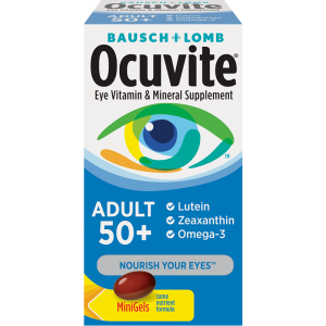Ocuvite Adult 50+ Once-Daily MiniGel By Bausch + Lomb - Ocuvite By Bausch + Lomb