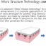 Dissolving micro structure